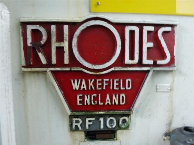 RHODES WAKEFIELD LTD. Doppelständerexzenterpresse RF 100 - 6