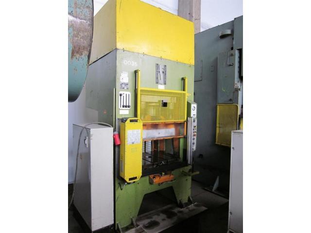 HANS SCHOEN hydraulische Doppelständer (zieh) presse UTE-B 160 - 1