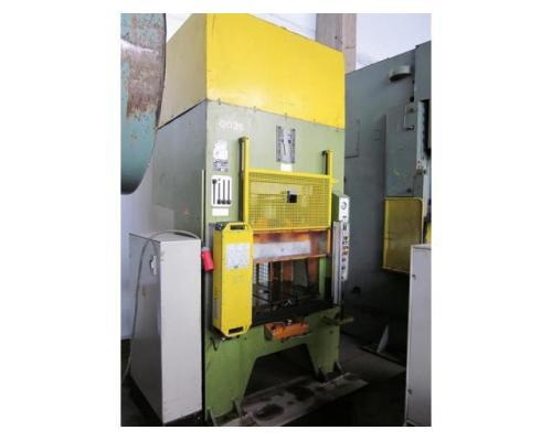 HANS SCHOEN hydraulische Doppelständer (zieh) presse UTE-B 160 - Bild 1