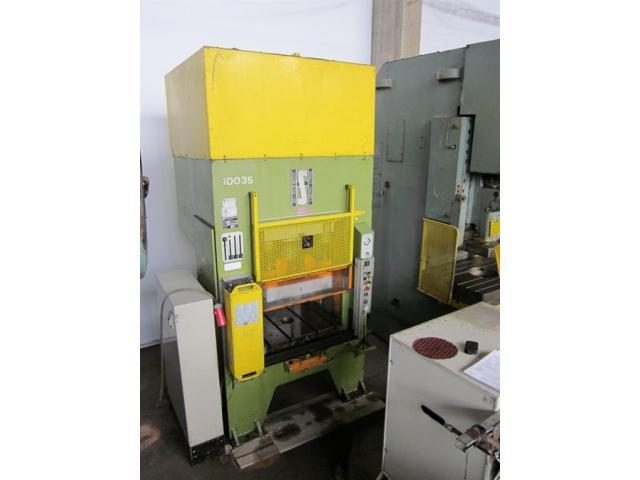 HANS SCHOEN hydraulische Doppelständer (zieh) presse UTE-B 160 - 2