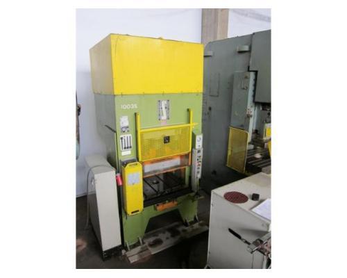 HANS SCHOEN hydraulische Doppelständer (zieh) presse UTE-B 160 - Bild 2