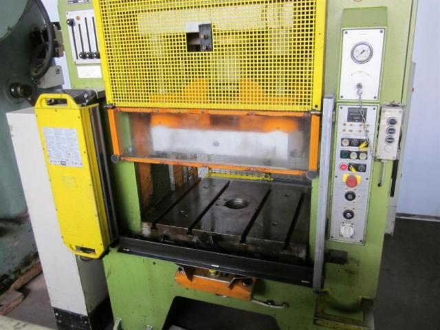 HANS SCHOEN hydraulische Doppelständer (zieh) presse UTE-B 160 - 3