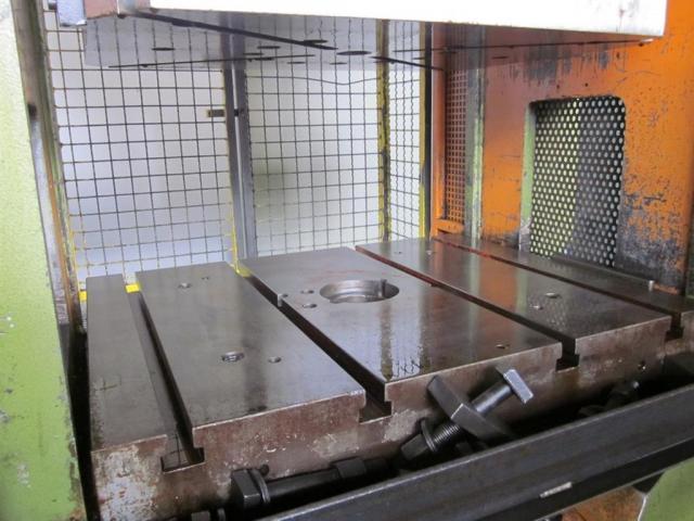 HANS SCHOEN hydraulische Doppelständer (zieh) presse UTE-B 160 - 5