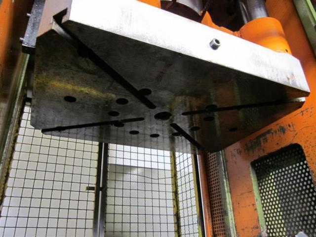 HANS SCHOEN hydraulische Doppelständer (zieh) presse UTE-B 160 - 6