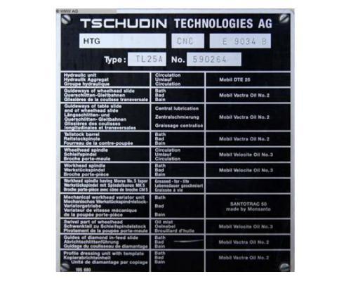 TSCHUDIN Rundschleifmaschine - Einstich TL 25 A - Bild 6