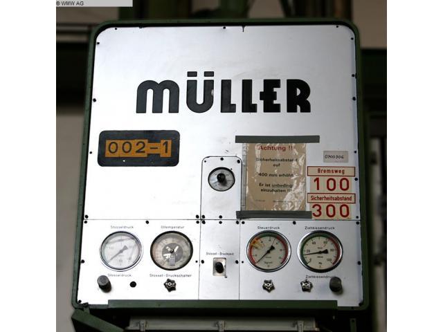 MÜLLER Einständerpresse - Hydraulisch CAZ 200 - 6