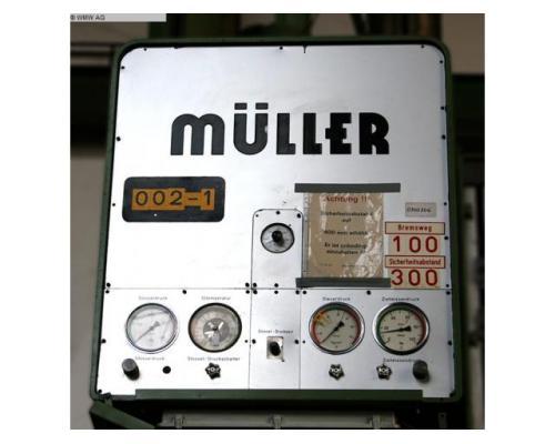 MÜLLER Einständerpresse - Hydraulisch CAZ 200 - Bild 6