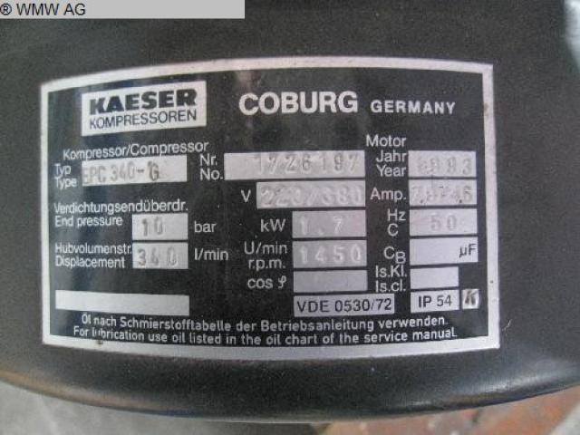 KAESER Kolbenkompressor EPC 340 - 5