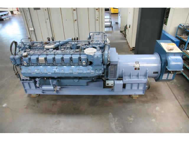 MTU Friedrichshafen Generator BHKW MTU 16396 - 1