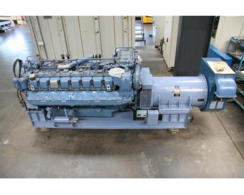 MTU Friedrichshafen Generator BHKW MTU 16396 - Bild 1