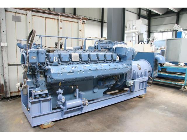 MTU Friedrichshafen Generator BHKW MTU 16396 - 2