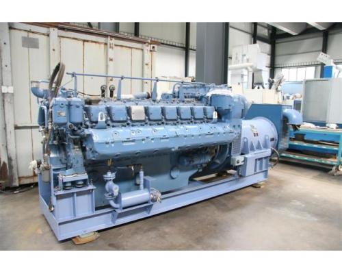 MTU Friedrichshafen Generator BHKW MTU 16396 - Bild 2