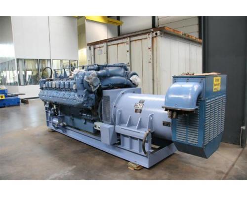 MTU Friedrichshafen Generator BHKW MTU 16396 - Bild 3