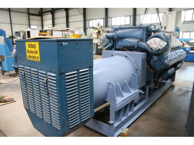 MTU Friedrichshafen Generator BHKW MTU 16396 - 4