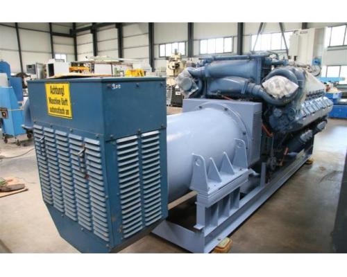 MTU Friedrichshafen Generator BHKW MTU 16396 - Bild 4