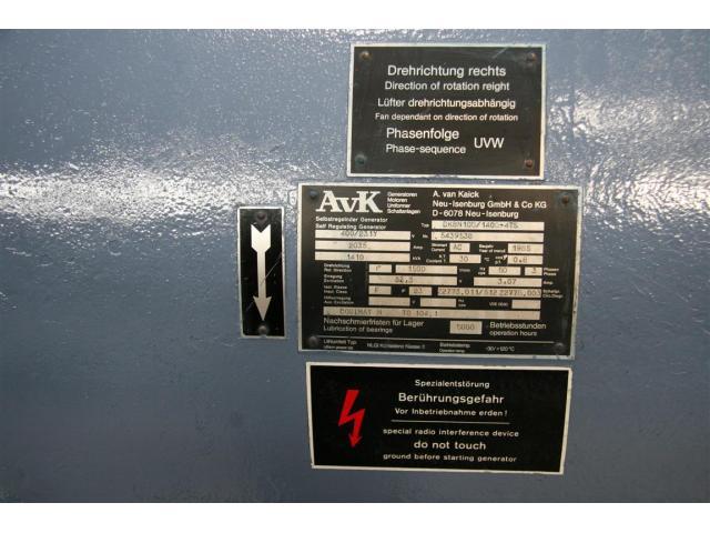MTU Friedrichshafen Generator BHKW MTU 16396 - 5