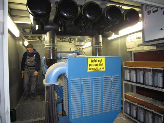 MTU Friedrichshafen Generator BHKW MTU 16396 - 6