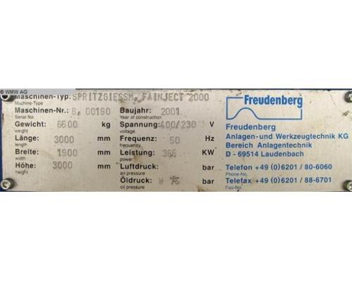 FREUDENBERG Spritzgiessmaschine - Sondermaschine FAINJECT 2000 - Bild 5