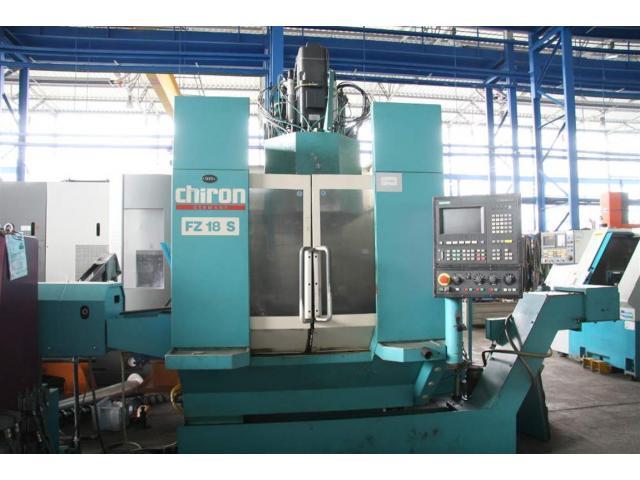 CHIRON WERKE GMBH & CO.KG Profilbearbeitungszentrum FZ 18 S - 2