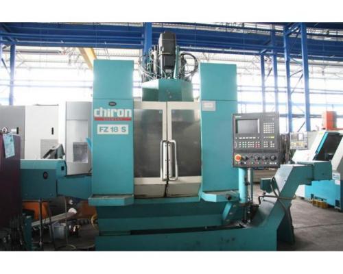 CHIRON WERKE GMBH & CO.KG Profilbearbeitungszentrum FZ 18 S - Bild 2