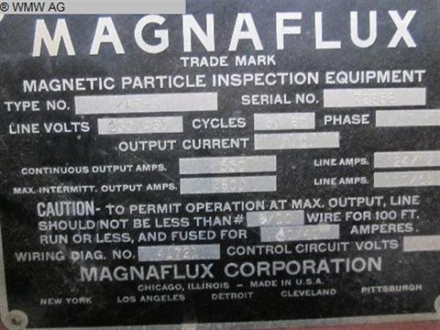 MAGNAFLUX Rißprüfmaschine KAR 3 - 4