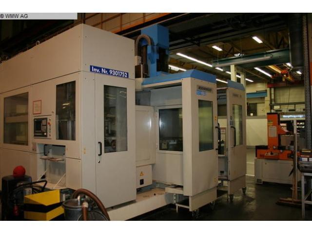 VDF BOEHRINGER Bearbeitungszentrum - Vertikal Taurus 3 S - 5 Achsen/ 5 axis - 1