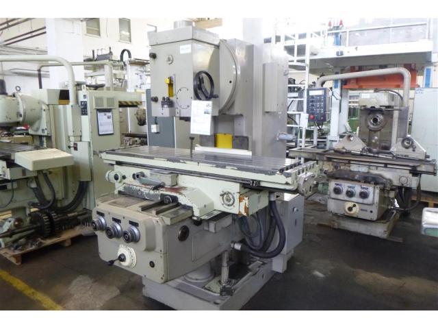 WMW (KARL-MARX-STADT) Fräsmaschine - Vertikal FSS400 V/2 - 1