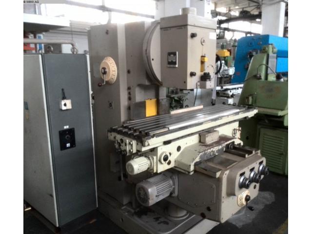 WMW (KARL-MARX-STADT) Fräsmaschine - Vertikal FSS400 V/2 - 2