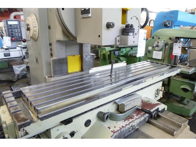 WMW (KARL-MARX-STADT) Fräsmaschine - Vertikal FSS400 V/2 - 3