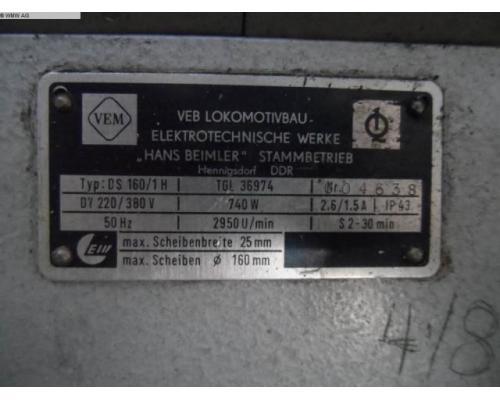 VEM Doppelschleifbock DS 160/1H - Bild 5