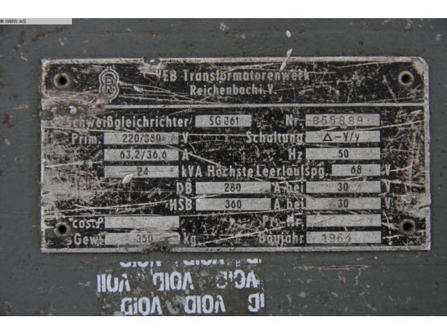 TRANSFORMATORENWERK REICHENBACH Transformator SG 361 - 2