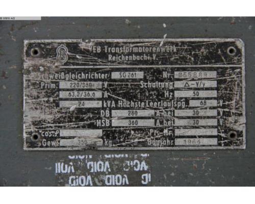 TRANSFORMATORENWERK REICHENBACH Transformator SG 361 - Bild 2