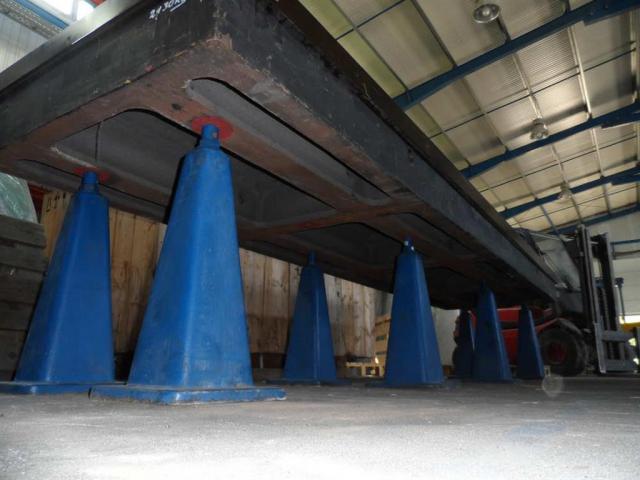 STOLLE Meß- und Anreißanlage 4000x1000x250 - 4