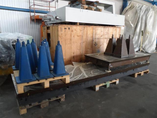 STOLLE Meß- und Anreißanlage 4000x1000x250 - 6