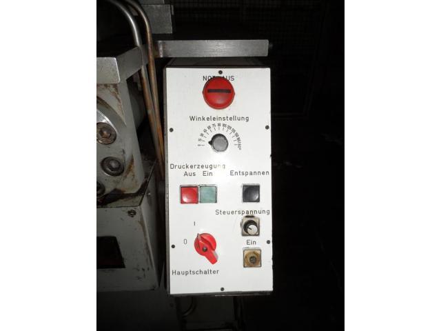 VEB POLYGRAPH Profilbiegemaschine HBX 196471 - 6