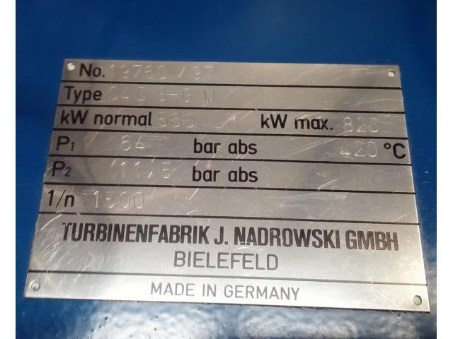 Nadrowski Bielefeld Dampfturbine C4DS-GVI - 6