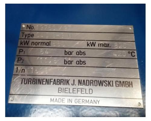 Nadrowski Bielefeld Dampfturbine C4DS-GVI - Bild 6