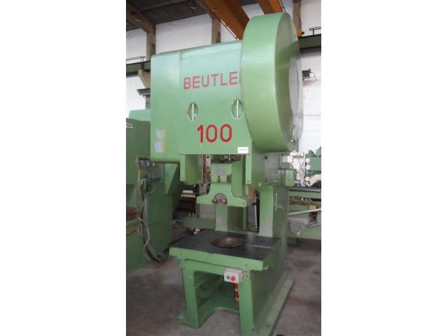BEUTLER Einständerexzenterpresse PDR 100 - 1