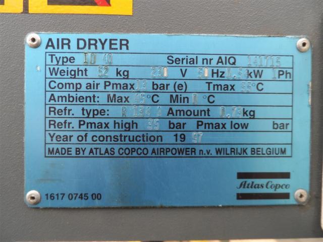 ATLAS COPCO Kältetrockner Air Driver ID 40 - 3