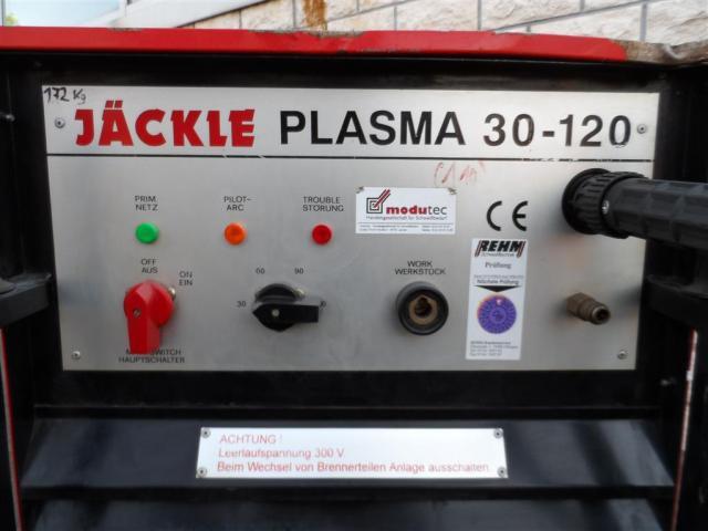 Jäckle Plasmaschneidgerät Plasma 30-120 - 4