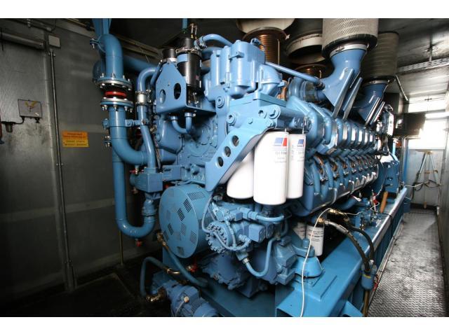 MTU Piller Generator USV  MTU - 1