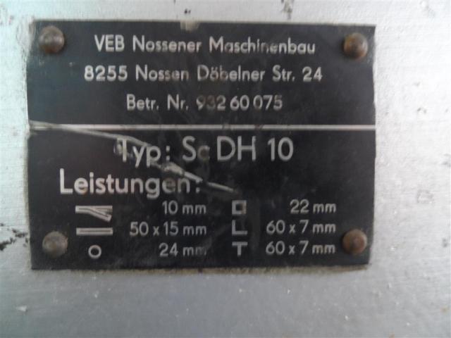 Nossener Maschinenbau Profilstahlschere ScDH10 - 6