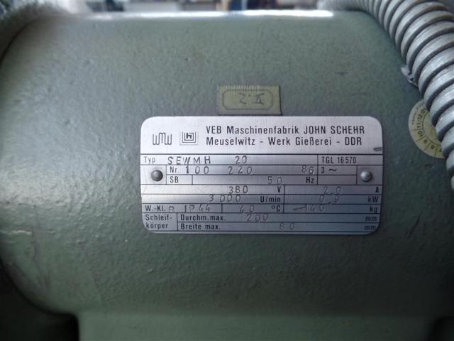 WMW Meuselwitz Doppelschleifbock SEWMH 20 - 4