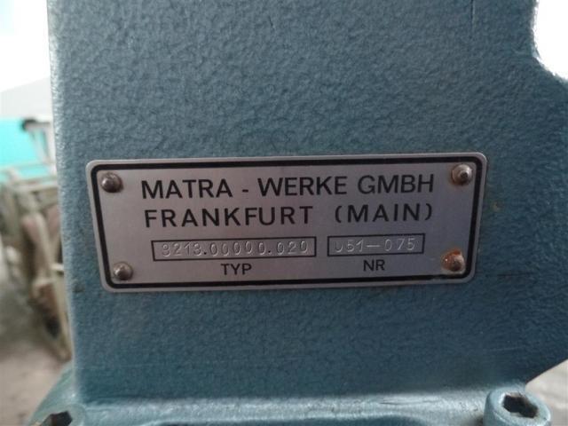 Matra Werke Nietmaschine 3213.00000.020 - 4