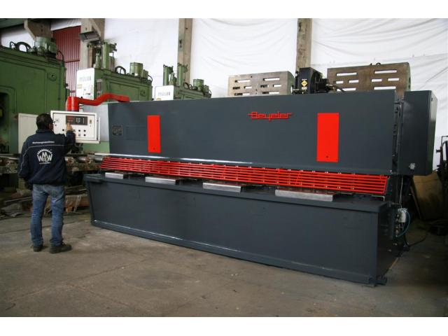 Beyeler Tafelschere - hydraulisch 4100 x 16 - 1