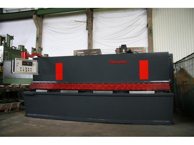 Beyeler Tafelschere - hydraulisch 4100 x 16 - 2