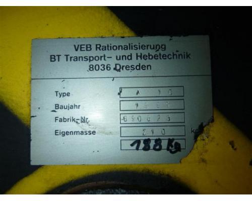 Rationalisierung Transport/Hebetechnik Dresden Flaschenzüge, Elektrozüge A10 - Bild 4