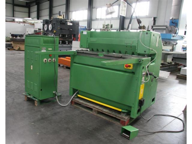 WMW Aue Tafelschere - mechanisch ScTU 2,5 x 1000 - 1