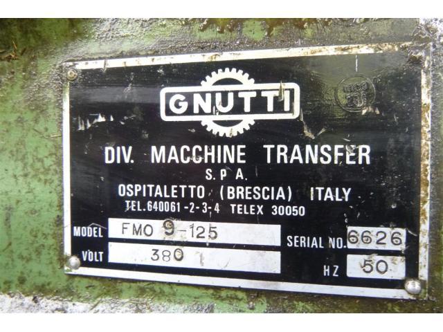 GNUTTI Transfermaschine FMO-9-125 - 3