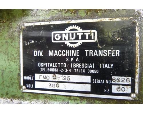 GNUTTI Transfermaschine FMO-9-125 - Bild 3